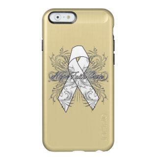Mesothelioma Cancer Flourish Hope Faith Cure Incipio Feather® Shine iPhone 6 Case