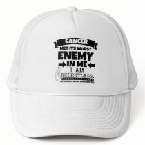 Mesothelioma Cancer Met Its Worst Enemy in Me Trucker Hat