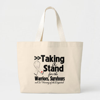 Mesothelioma Cancer Taking a Stand Tribute Bag