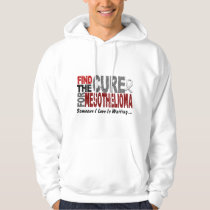 Mesothelioma FIND THE CURE 1 Hoodie
