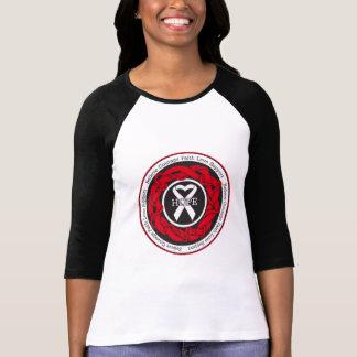 Mesothelioma Hope Intertwined Ribbon T-Shirt