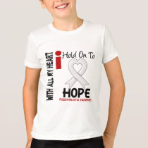 Mesothelioma I HOLD ON TO HOPE T-Shirt