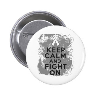 Mesothelioma Keep Calm and Fight On Buttons