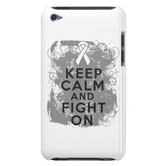 Mesothelioma Keep Calm and Fight On iPod Touch Covers