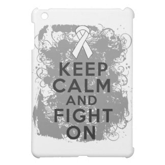 Mesothelioma Keep Calm and Fight On Case For The iPad Mini
