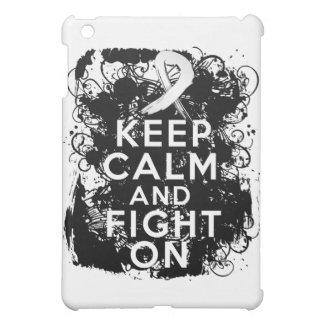 Mesothelioma Keep Calm and Fight On iPad Mini Covers