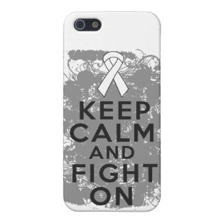 Mesothelioma Keep Calm and Fight On iPhone 5 Case