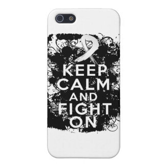 Mesothelioma Keep Calm and Fight On Case For iPhone 5