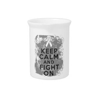 Mesothelioma Keep Calm and Fight On Pitchers