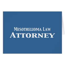 Mesothelioma Law Attorney Gifts