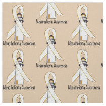 Mesothelioma Lighthouse of Hope Fabric