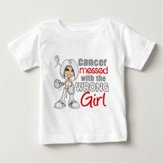 Mesothelioma Messed With Wrong Girl.png Baby T-Shirt