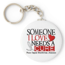 Mesothelioma NEEDS A CURE 1 Keychain