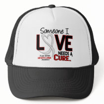 Mesothelioma NEEDS A CURE 2 Trucker Hat