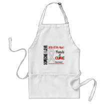 Mesothelioma Needs A Cure 3 Adult Apron