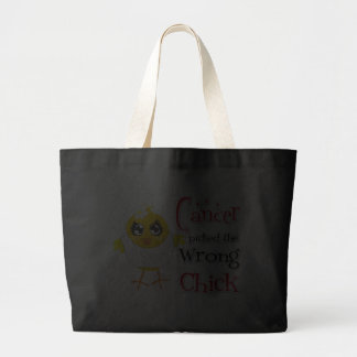 Mesothelioma Picked The Wrong Chick Tote Bag