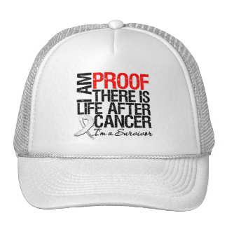 Mesothelioma Proof There is Life After Cancer Mesh Hat