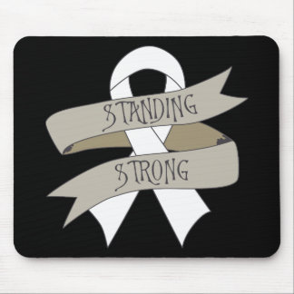 Mesothelioma Standing Strong Mouse Pad