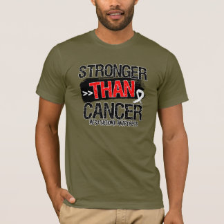 Mesothelioma - Stronger Than Cancer T-Shirt