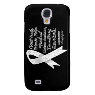 Mesothelioma Support Strong Survivor Samsung Galaxy S4 Cases