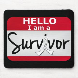 Mesothelioma Survivor 24.png Mouse Pad