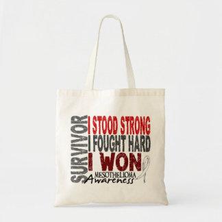 Mesothelioma Survivor 4 Tote Bag
