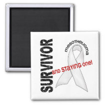 Mesothelioma Survivor Magnet