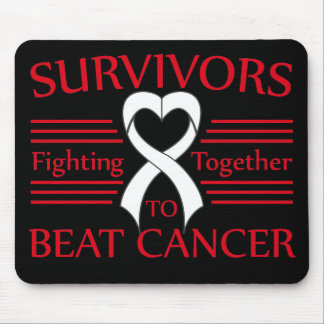 Mesothelioma Survivors Fighting Together Mouse Pad