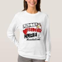 Mesothelioma UNITE BELIEVE CURE T-Shirt