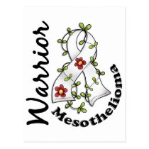 Mesothelioma Warrior 15 Postcard