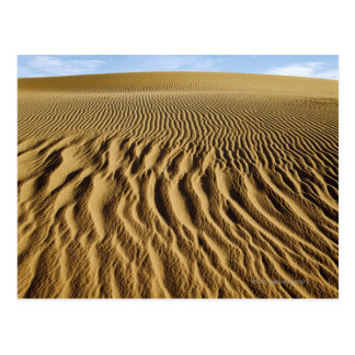 Mesquite Dunes, Death Valley National Park, Postcard