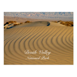 Mesquite Flat Dunes Death Valley Postcard