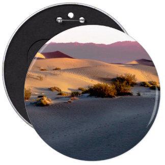 Mesquite Flat sand dunes Death Valley Button