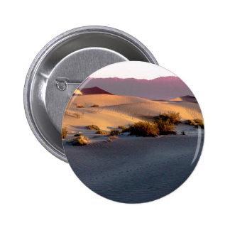 Mesquite Flat sand dunes Death Valley Pinback Button