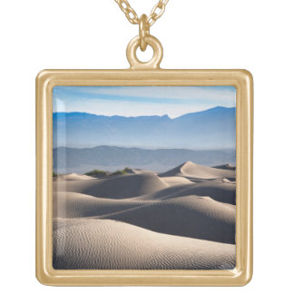 Mesquite Flat Sand Dunes Gold Plated Necklace