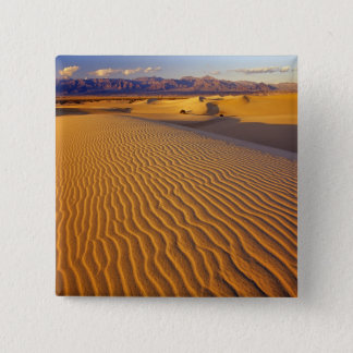 Mesquite Flat Sand dunes in Death Valley Pinback Button