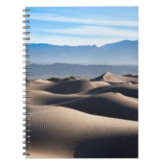 Mesquite Flat Sand Dunes Spiral Note Book