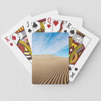 Mesquite Flats Sand Dunes Playing Cards