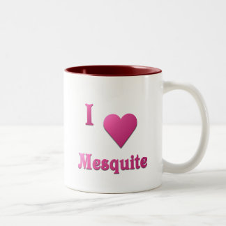 Mesquite -- Hot Pink Two-Tone Coffee Mug