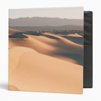 Mesquite Sand Dunes in Death Valley 3 Ring Binder