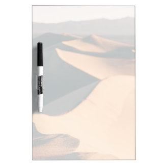 Mesquite Sand Dunes in Death Valley Dry-Erase Board