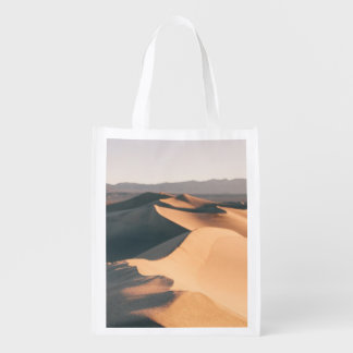 Mesquite Sand Dunes in Death Valley Grocery Bags