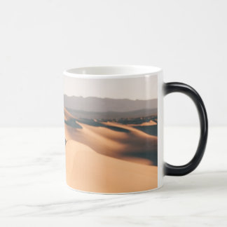 Mesquite Sand Dunes in Death Valley Magic Mug