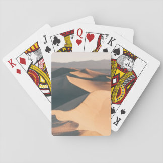 Mesquite Sand Dunes in Death Valley Playing Cards
