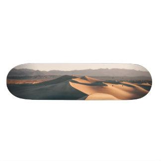 Mesquite Sand Dunes in Death Valley Skateboard Deck