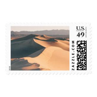 Mesquite Sand Dunes in Death Valley Stamp