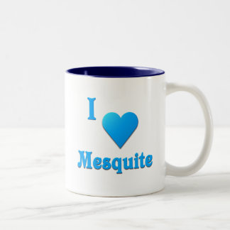 Mesquite -- Sky Blue Two-Tone Coffee Mug