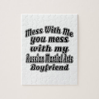 Mess With Me You Mess With My Russian Martial Arts Puzzles