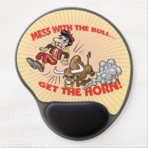 Mess with the Bull... Gel Mouse Pad