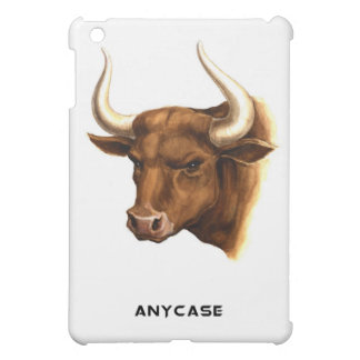 mess with the bull ya get the horns - ipad case